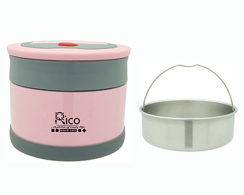 Stainless Steel Vacuum Food Jar With S/S Spoon 1000ml