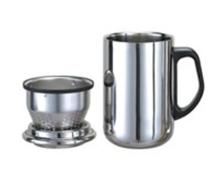 Stainless Steel Double Wall Mug