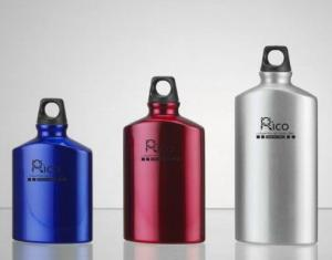 Aluminum Oval Shape Bottle 400ml, 500ml,600ml