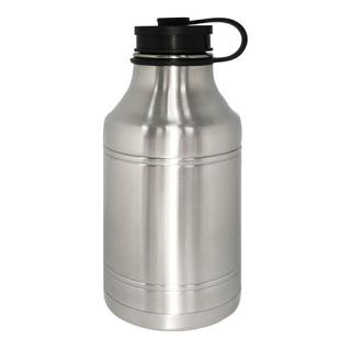 Growler Stainless Steel Vacuum Sport Bottle 1920Ml