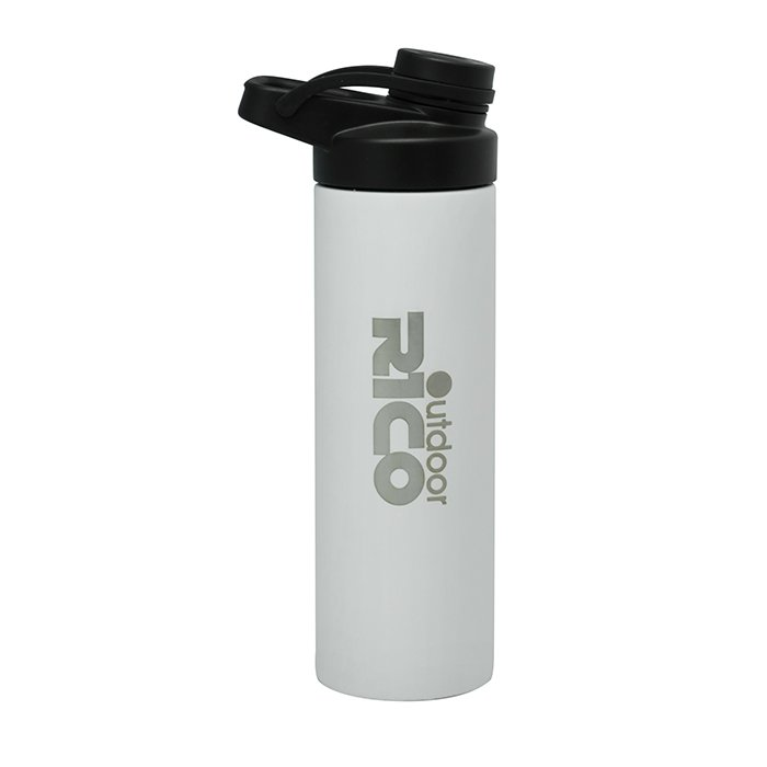 Stainless Steel Vacuum Sports Bottle With Staw Lid