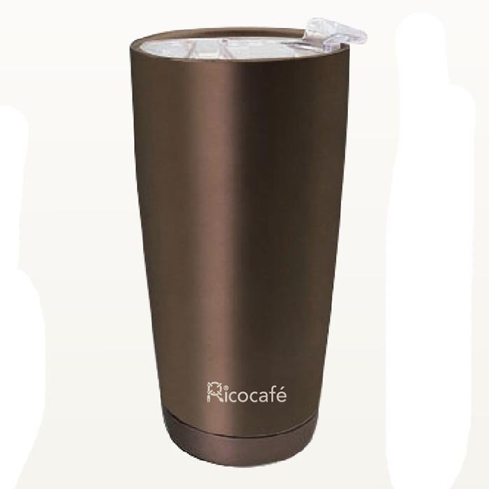 Travel Stainless Steel Vacuum Auto Mug With Cermic Coating Inside