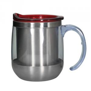 Stainless Steel Double Wall Coffee Mug 380ml