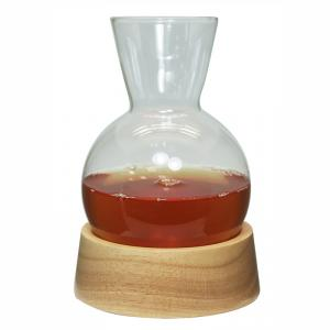 Singe Wall Glass Coffee Jar