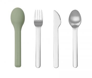 3 in 1 Stainless Steel Cutlery Set
