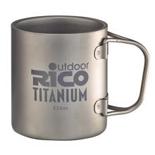Titanium Double Wall Mug 220Ml